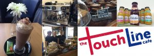 TouchLine Cafe Collage