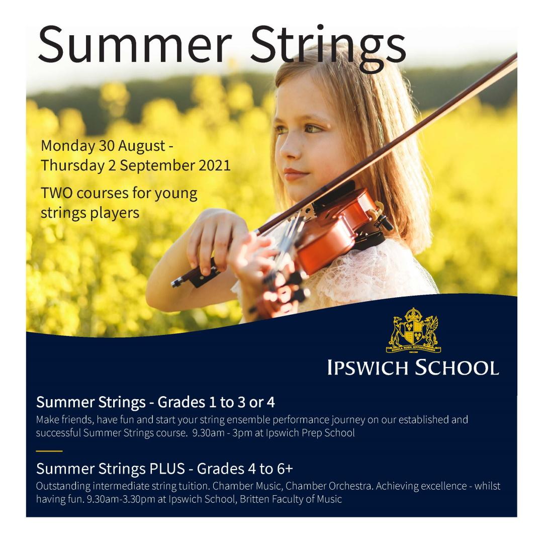 Summer Strings Leaflet - Page 1
