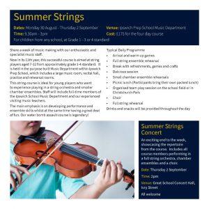 Summer Strings Leaflet - Page 2